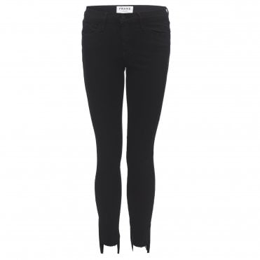 Le Skinny Raw Stagger Jean in Film Noir