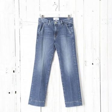 Le Slim Straight Trouser
