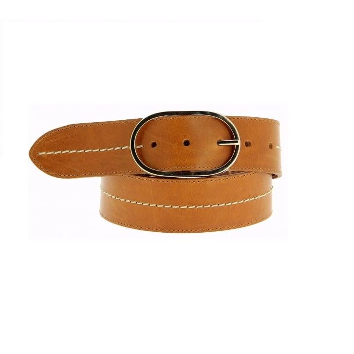 FRERE SOEUR La Midi Leather Belt