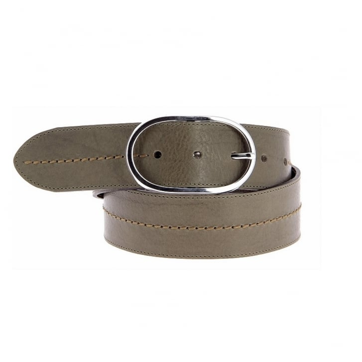 La Midi Leather Belt