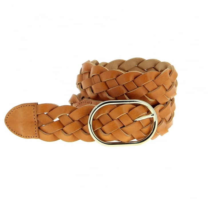 FRERE SOEUR La Temple Leather Belt