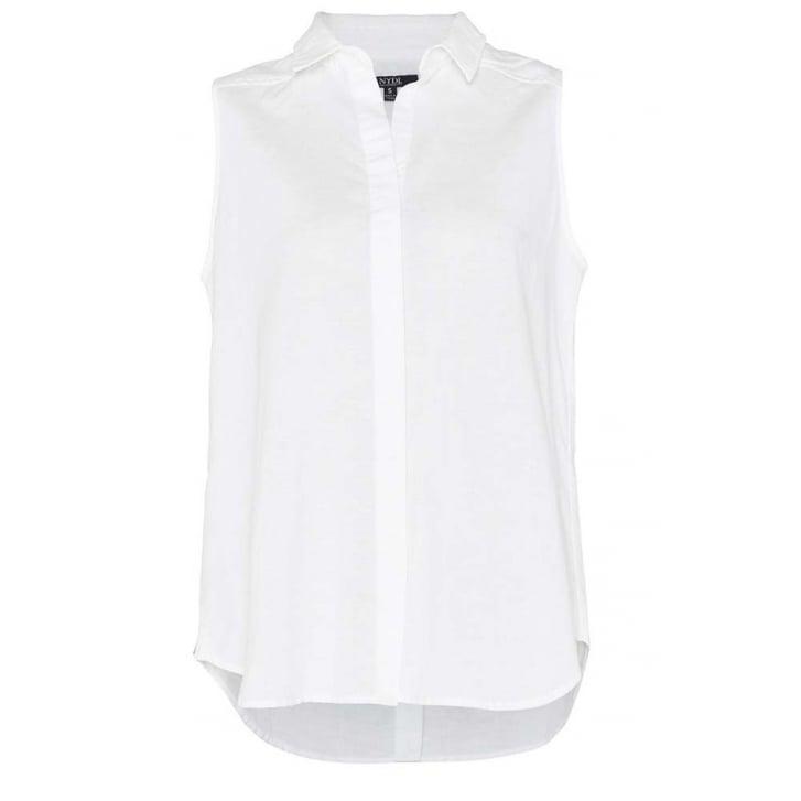 NYDJ Garment Dye Linen Top