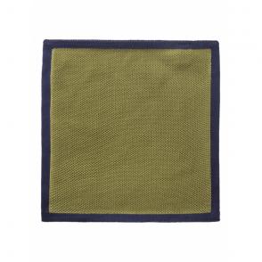 Contrast Edge Handkerchief in Green