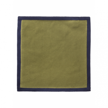 Contrast Edge Handkerchief in Green