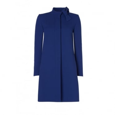 Ellory Bow Detail Coat