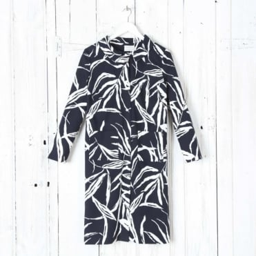Grace Bright Bamboo Print Coat