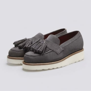 Clara Suede Loafer