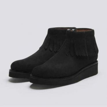 Trixie Suede Zip Boot