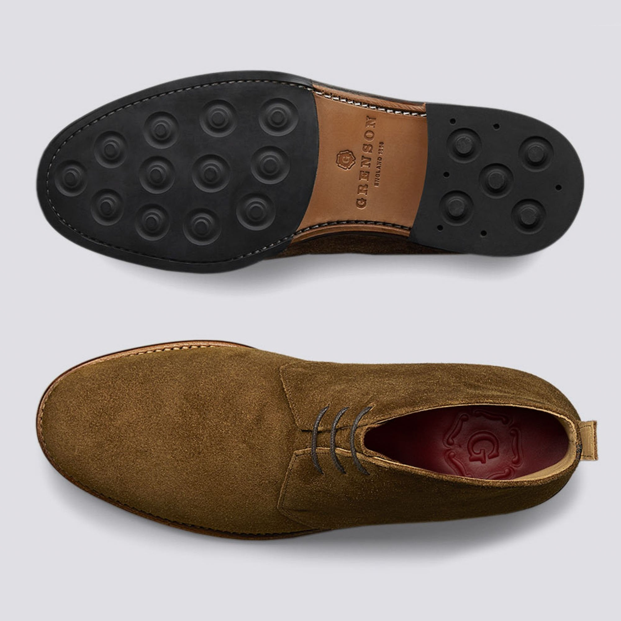 Wendell Suede Chukka Boot in Snuff