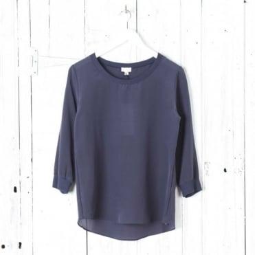 'Knits' Silk Shirt