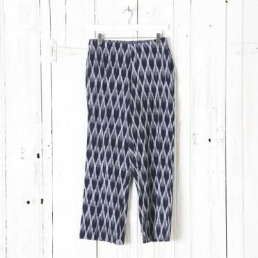 Haru Straight Ikat Pants - Cotton