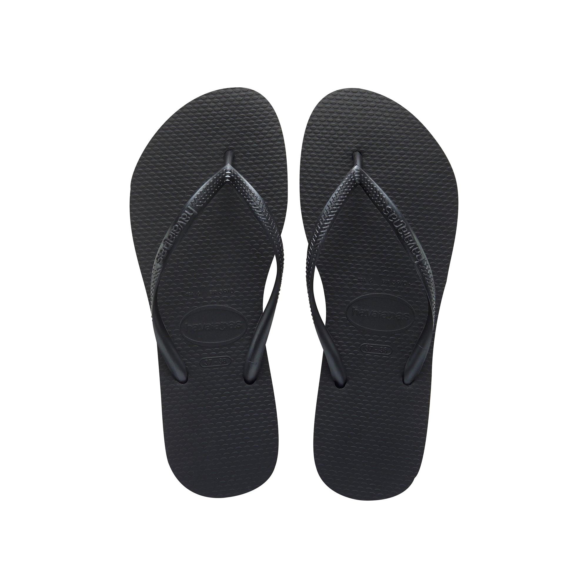 HAVAIANAS Slim Flip Flop in Black - Woman from Collen   Clare UK 8ff45ca45