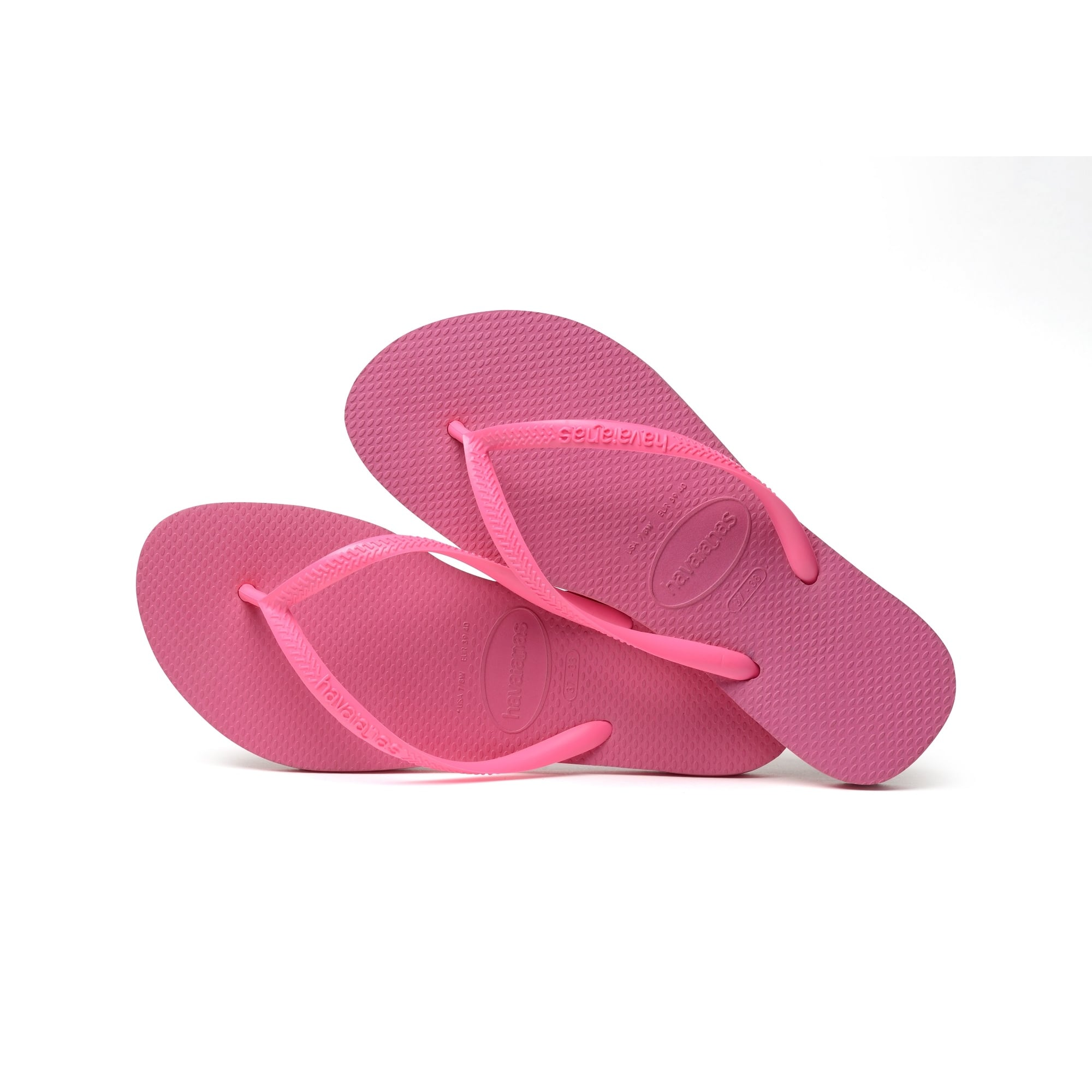 Havaianas Slim Flip Flop in Shocking Pink  d9f25a0d9014