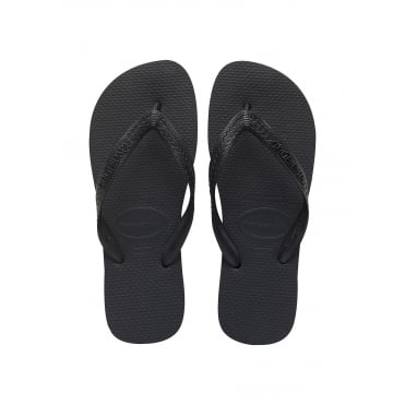 Top Flip Flop in Black