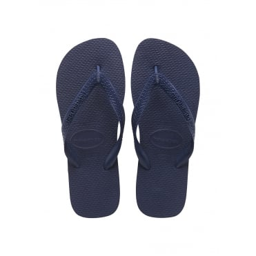Top Flip Flop in Navy Blue