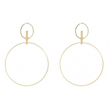Ergo Gold Earrings