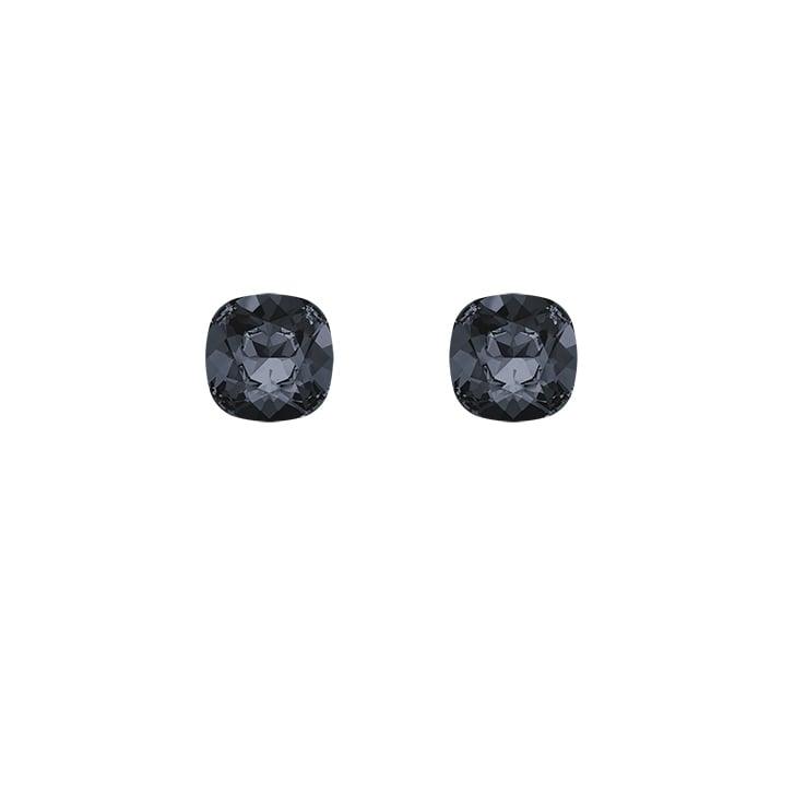 HELENE ZUBELDIA Silver Night Crystal Earrings