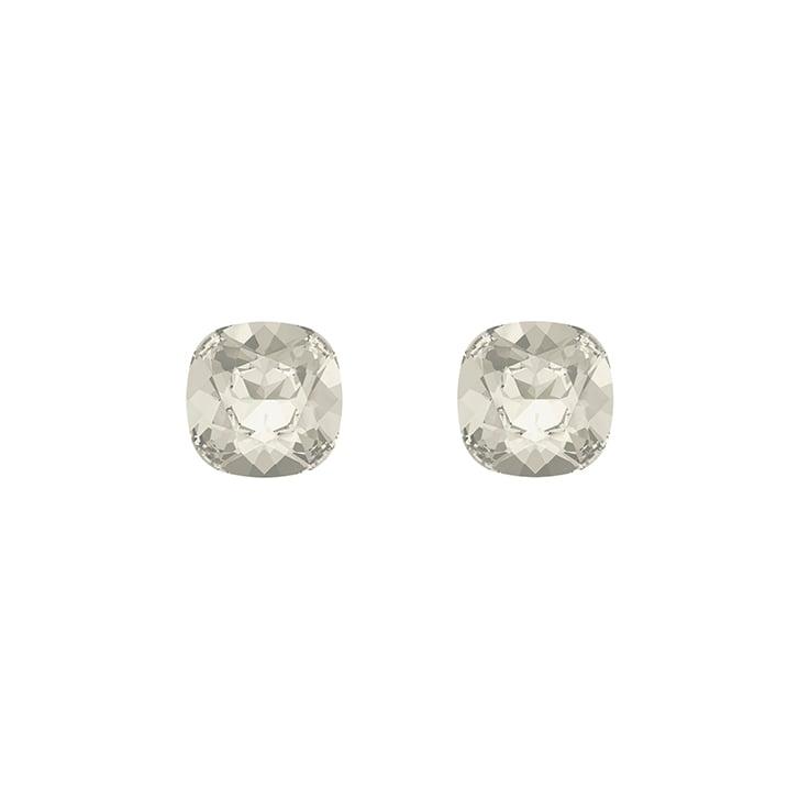 HELENE ZUBELDIA Silver Shade Crystal Earrings