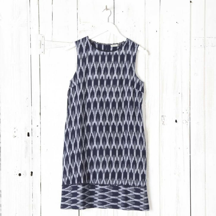 SOMEWHERE PARIS Hiwa Ikat Dress Without Sleeves