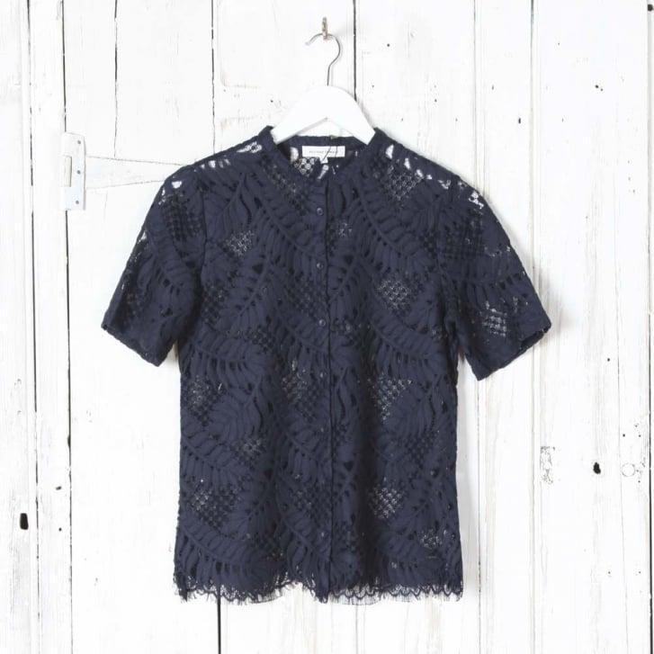 SECOND FEMALE Hortensia Short Sleeved Shirt