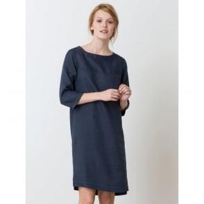 Hosaka Dress, 3/4 Sleeves, Linen