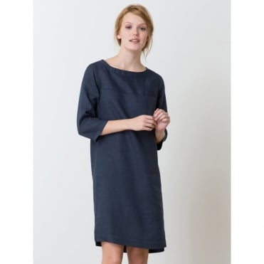 Hosaka Dress, 3/4 Sleeves, Linen