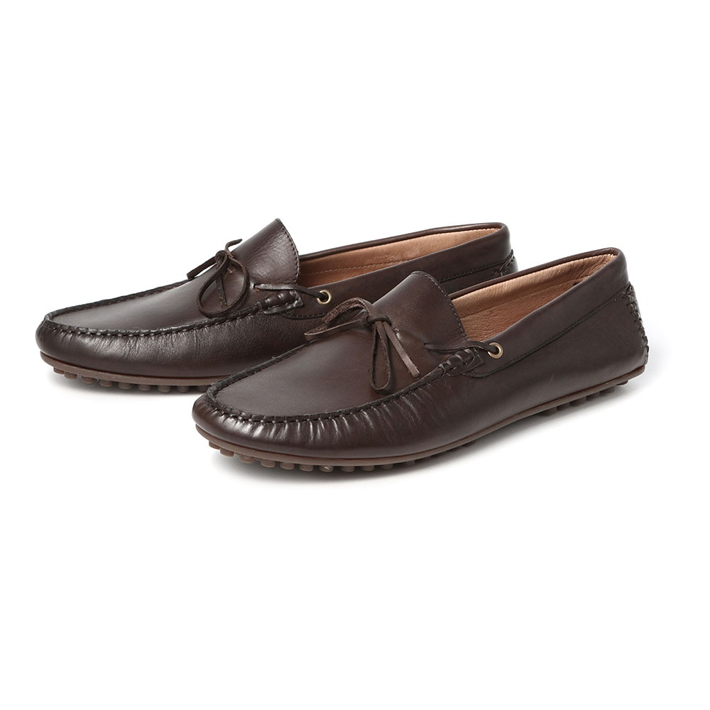 H by Hudson Felipe Driving Shoe in Brown  80d4acb5f
