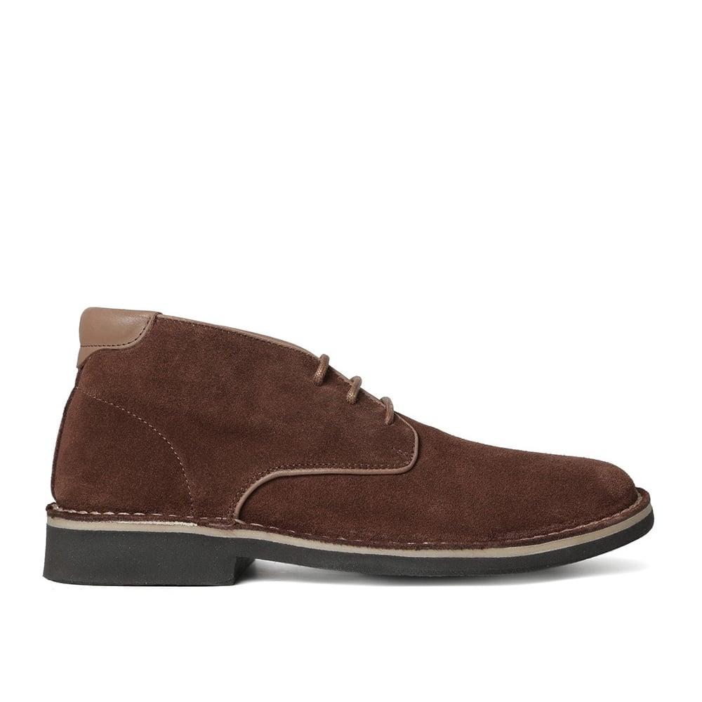 buy hudson margrey suede desert boot in brown