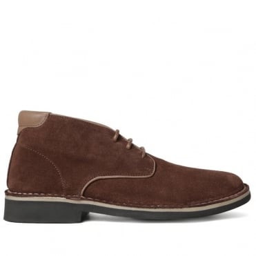 Margrey Suede Desert Boot in Brown