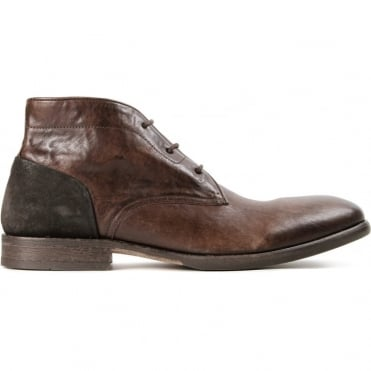 Ryecroft Calf 3 Hole Lace Up Boot in Calf Brown