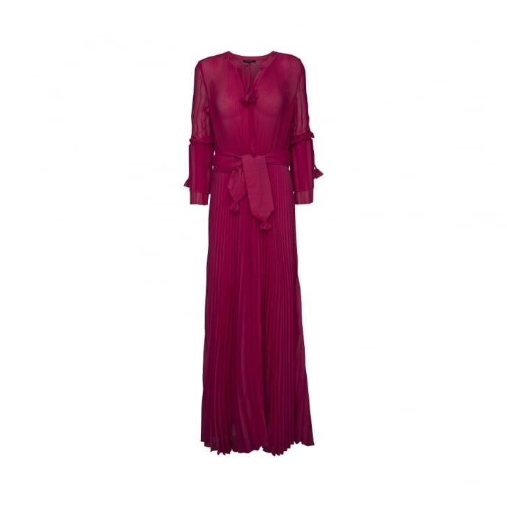 ILSE JACOBSEN Long Sleeve Pleat Dress