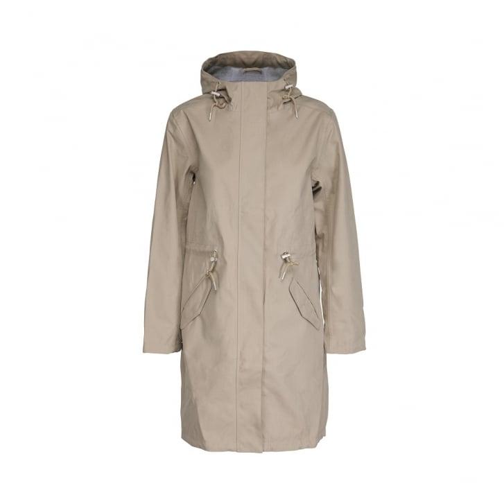 ILSE JACOBSEN Rain 74 Mac Rain Coat in Falcon