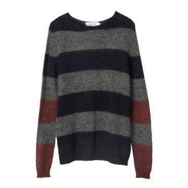 Big Multi Stripe Knit