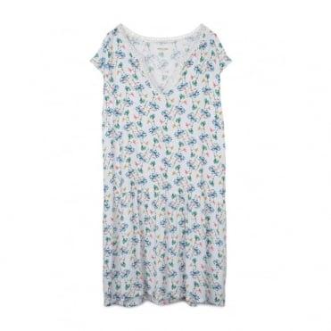 Floral Cap Sleeve Dress