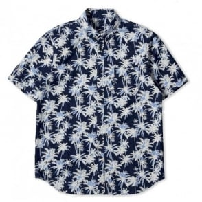 Indigo Palm Short Sleeve Standard Shirt