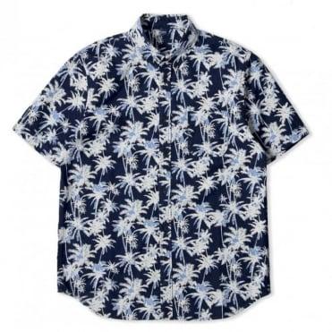 Indigo Palm Short Sleeve Standard Shirt