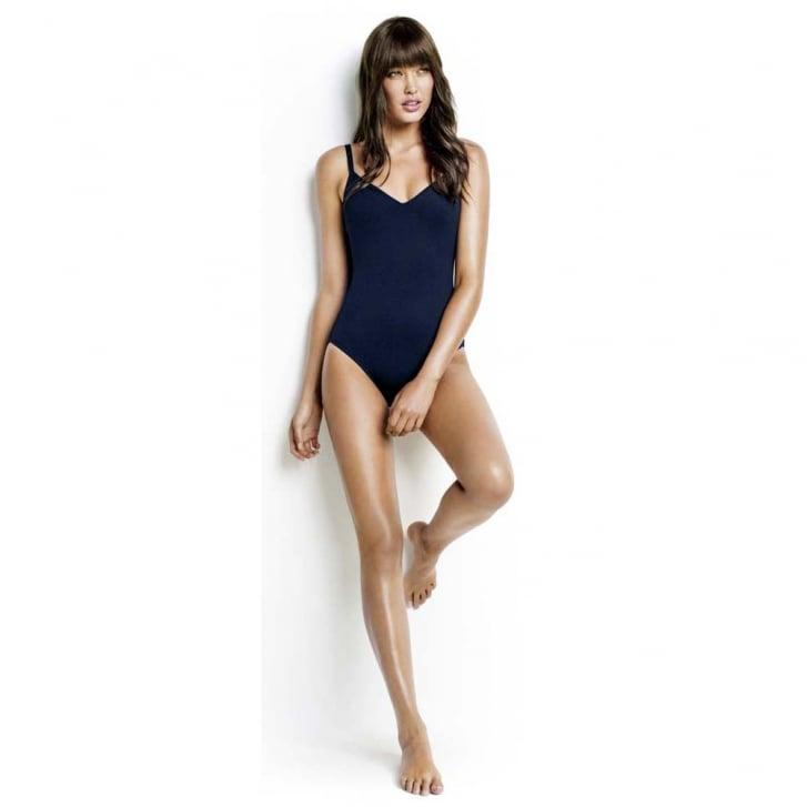 SEAFOLLY Indigo Sweetheart Maillot Swimsuit