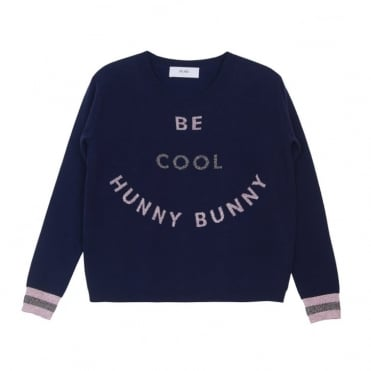 Natalia Be Cool Top in Navy
