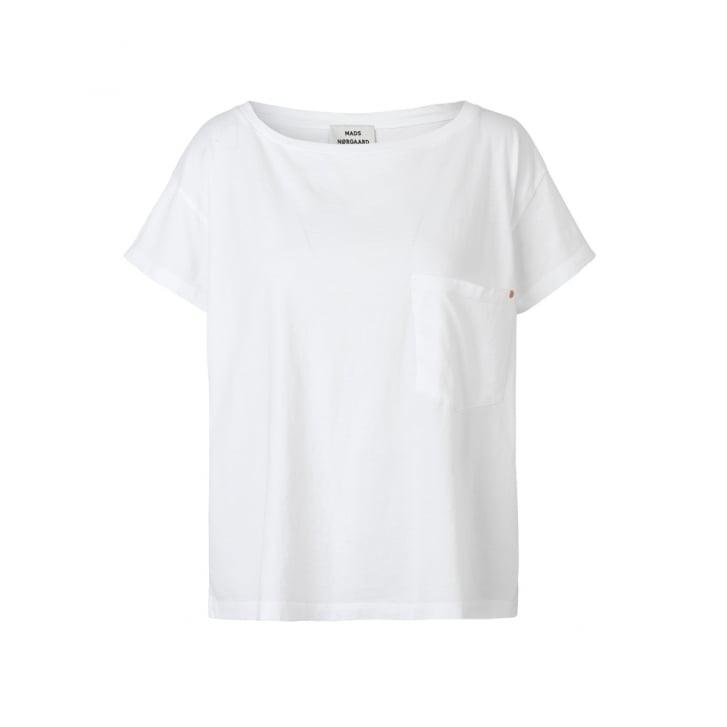 MADS NORGAARD Jersey Dip Torva T - Shirt