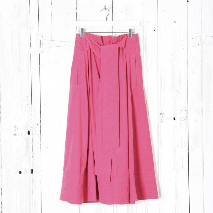 JOSEPH Arka Cupro Skirt