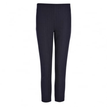 Gabardine Stretch Jacquard New Tony Cropped Trouser