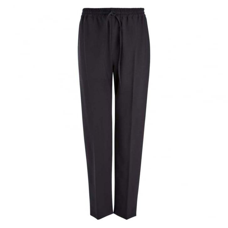 JOSEPH Louna Stretch Wool Drawstring Trousers