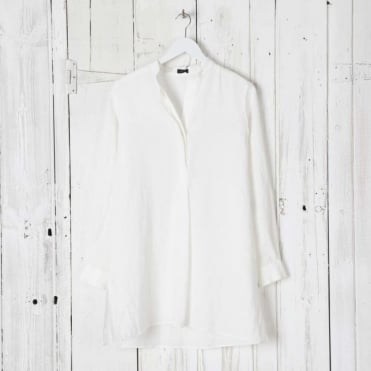 New Dara Vintage Linen Blouse