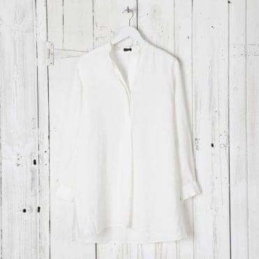 New Dara Vintage Linen Blouse