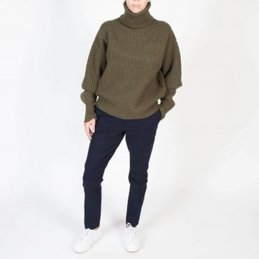 Pearl Sweater in Military
