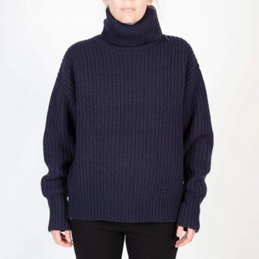 Pearl Sweater in Navy