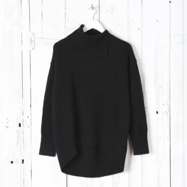 Soft Wool Long Sleeve High Neck Sweater