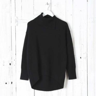Soft Wool Long Sleeve High Neck Sweater