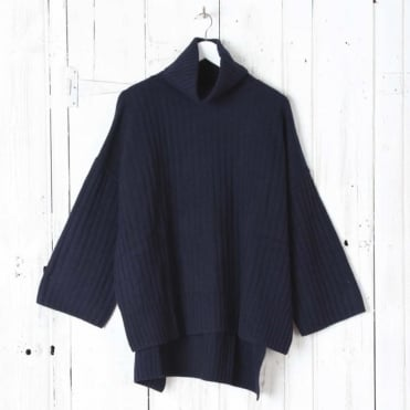 Soft Wool Poncho