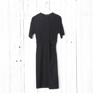 Stevie Mix Crepe Dress
